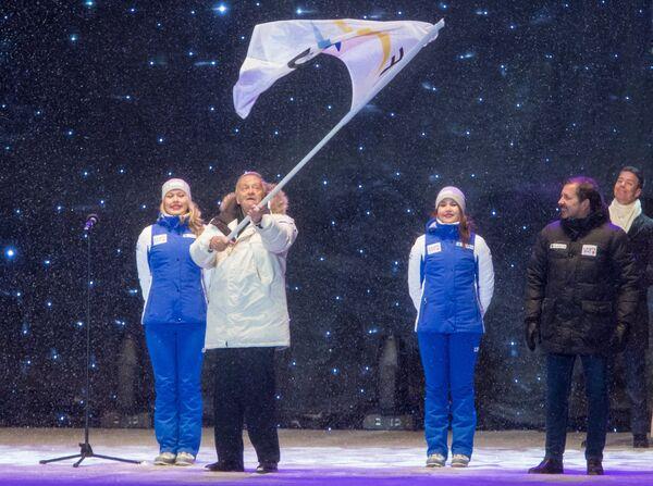 Президент Международной федерации лыжных видов спорта (FIS) Джанфранко Каспер
