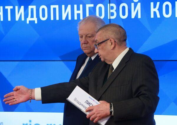 Виталий Смирнов (слева) и Леонид Мирошниченко