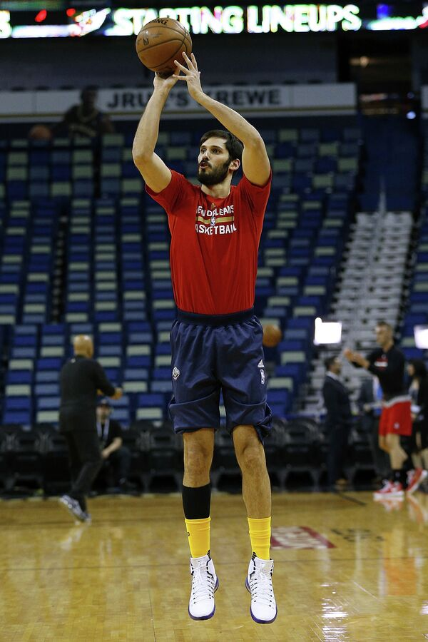 Израильский баскетболист Омри Касспи