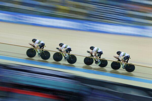 Спортсмены сборной Австралии по велоспорту на треке