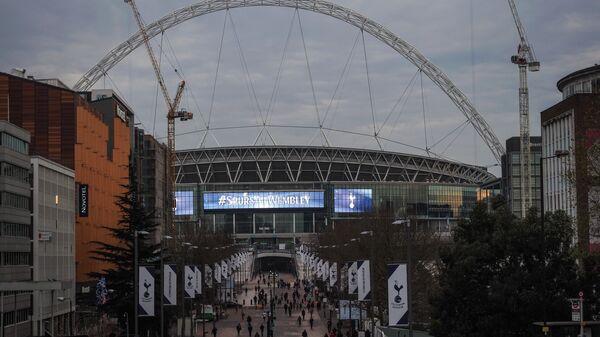 Футбольный стадион Уэмбли в Лондоне