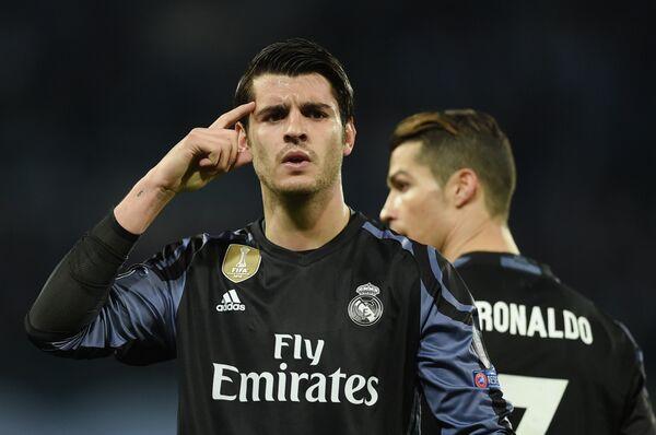 Нападающий Реала Альваро Мората