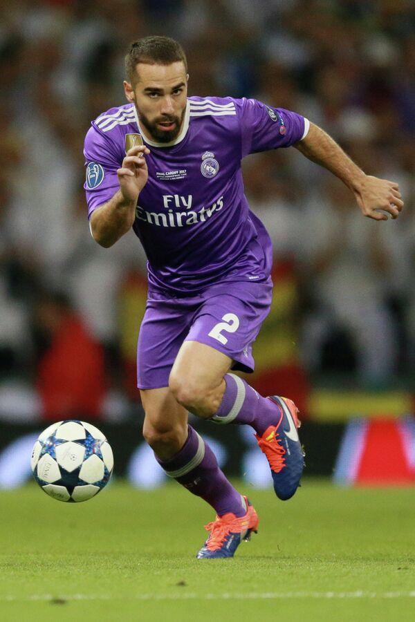 Защитник ФК Реал Мадрид Даниэль Карвахаль