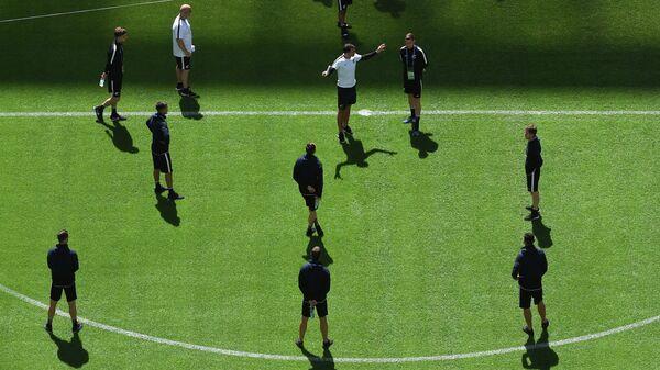 футбольная тренировка