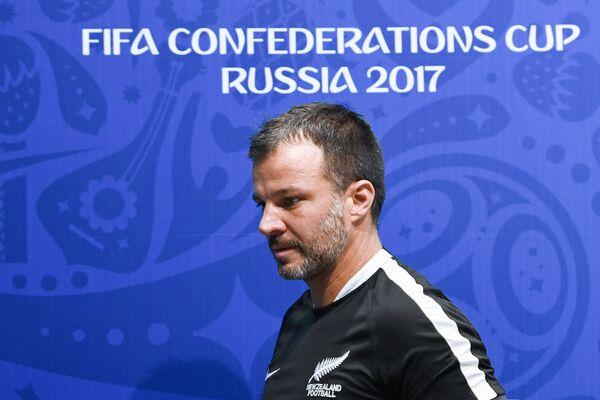 Главный тренер сборной Новой Зеландии Энтони Патрик Хадсон