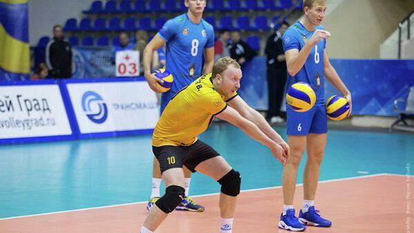 Российский волейболист Валерий Комаров