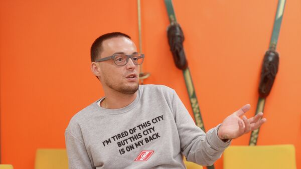 Российский рэп-исполнитель Алексей Долматов