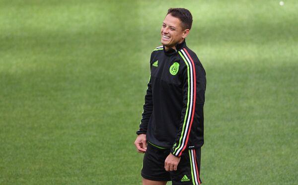 Нападающий сборной Мексики Хавьер Эрнандес