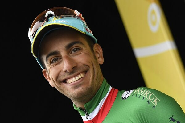 Итальянский велогонщик Фабио Ару