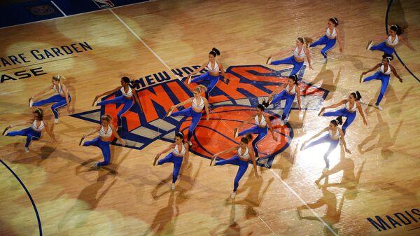 Девушки из группа поддержки Нью-Йорк Никс