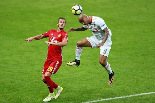 Игровой момент матча Локомотив - Арсенал