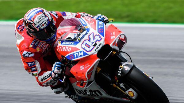 Итальянец Андреа Довициозо из Ducati Team