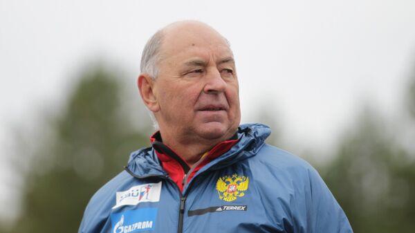 Председатель Тренерского совета сборной России по биатлону Владимир Барнашов