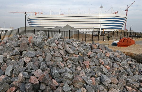 Строительство футбольного стадиона Калининград