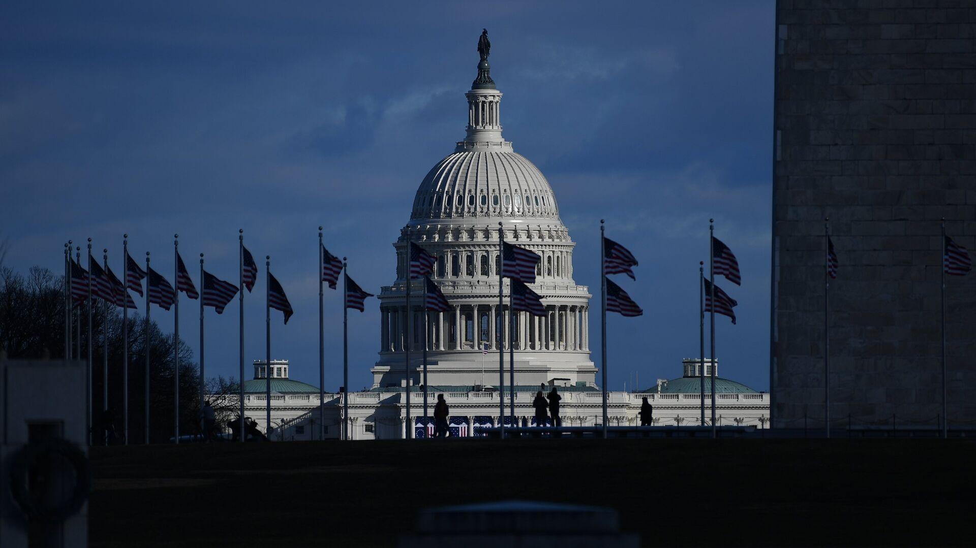 Вид на Капитолий в Вашингтоне - РИА Новости, 1920, 29.04.2021