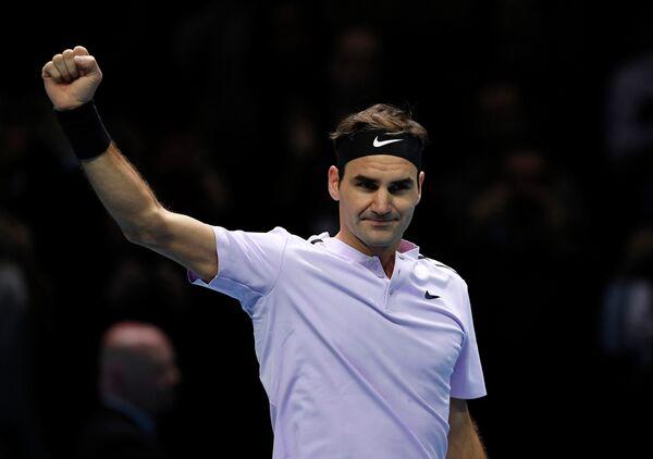 Швейцарский теннисист Роджер Федерер