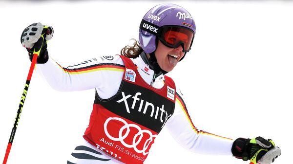 Немецкая горнолыжница Виктория Ребенсбург
