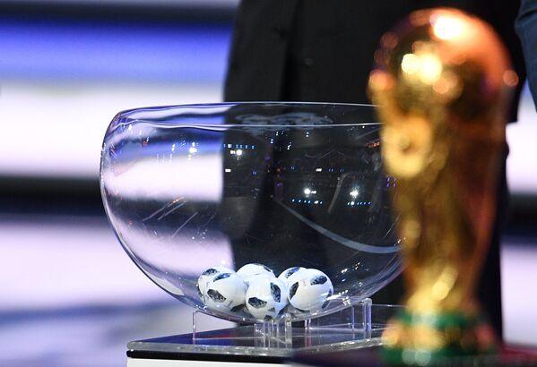 Официальная жеребьевка чемпионата мира-2018 по футболу