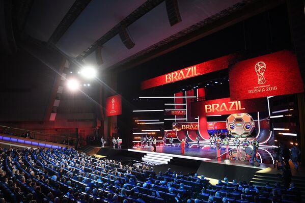 Церемония официальной жеребьевки чемпионата мира-2018
