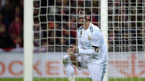 Защитник мадридского Реала Серхио Рамос