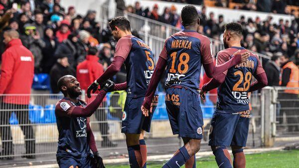 Футболисты французского Монпелье