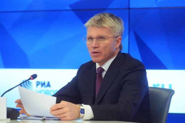 Министр спорта РФ Павел Колобков