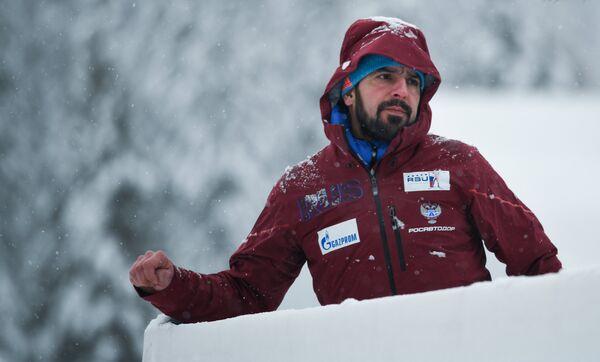 Старший тренер мужской сборной России по биатлону Рикко Гросс