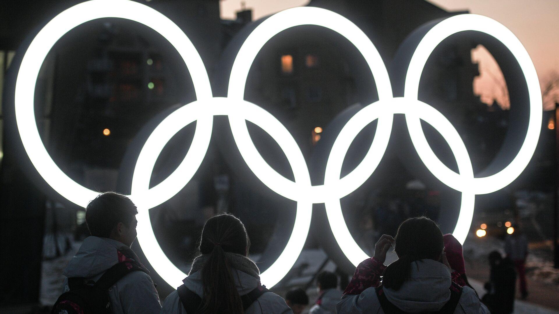 Олимпийские кольца - РИА Новости, 1920, 14.07.2021