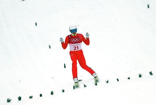 Российский двоеборец Эрнест Яхин