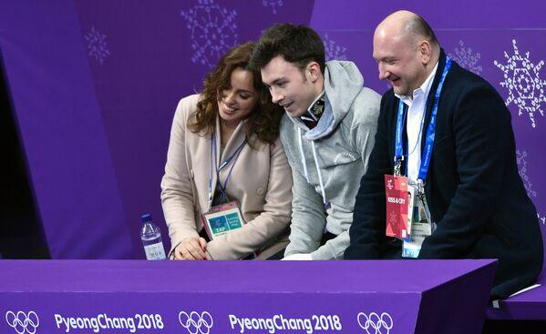 Ольга Глинка, Дмитрий Алиев  Евгений Рукавицын (слева направо)