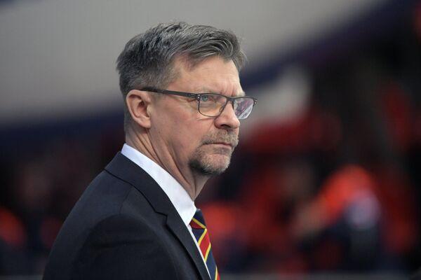 Главный тренер ХК Йокерит Юкка Ялонен