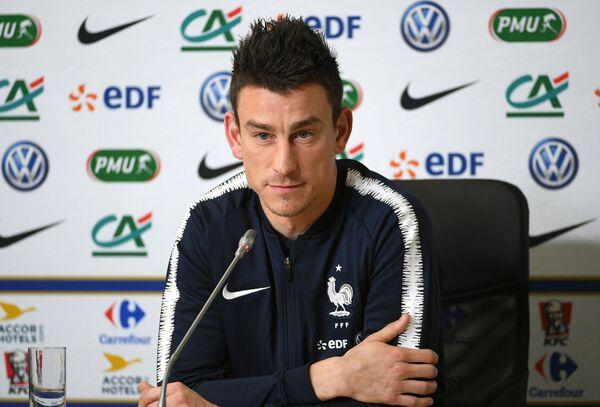 Защитник сборной Франции по футболу Лоран Косельни