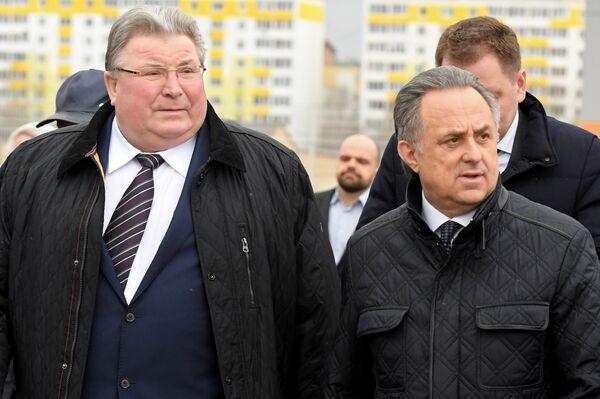 Виталий Мутко (справа) и Владимир Волков