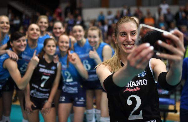Игрок ВК Динамо Дарья Талышева