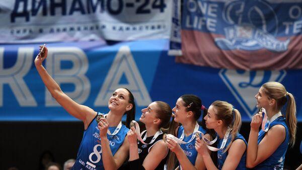 Игроки ВК Динамо