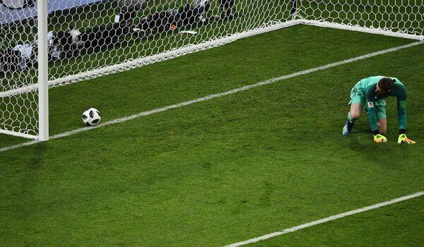 Вратарь сборной Испании Давид де Хеа
