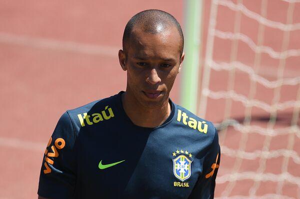 Футболист сборной Бразилии Миранда