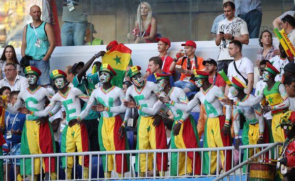 Болельщики сборной Сенегала