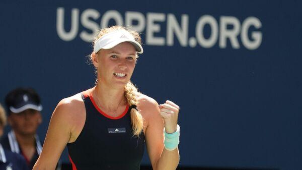 Каролина Возняцки на US Open