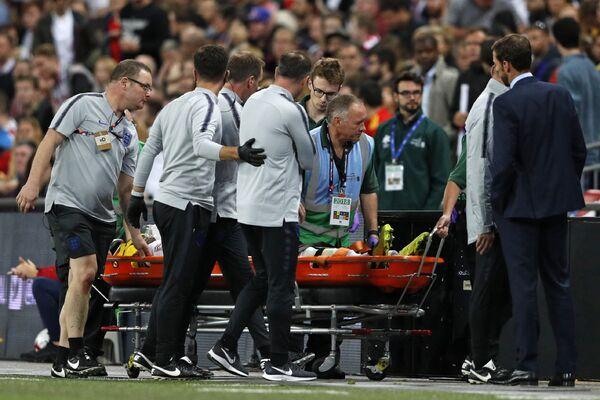 Защитник сборной Англии Люк Шоу получил травму