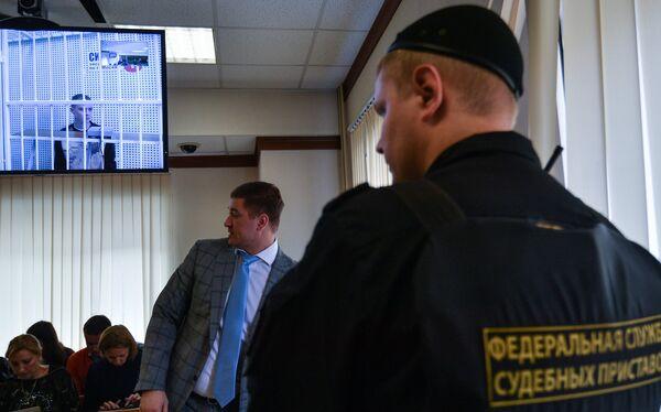 Рассмотрение апелляции на арест А. Кокорина и его брата Кирилла