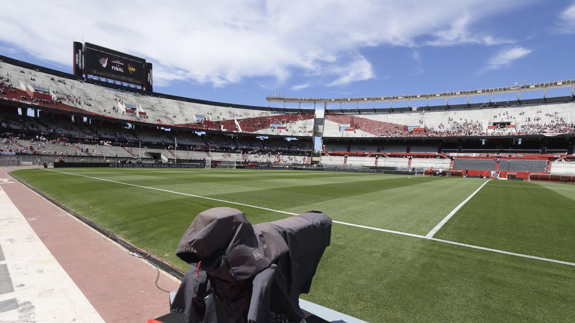 Стадион Монументаль в Буэнос-Айресе, где должен состояться финал Кубка Либертадорес - РИА Новости, 1920, 30.09.2021