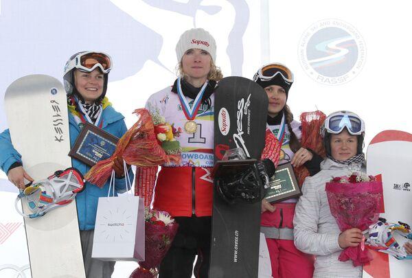 Анастасия Асанова, Доминик Мальте, Лука Берг и Ольга Чеботарева (слева направо)