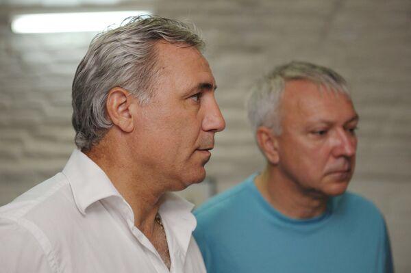 Христо Стоичков и Юрий Белоус