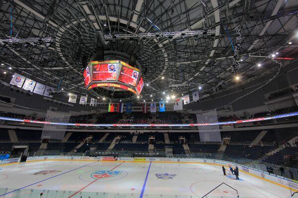 Здание спортивного комплекса Минск-Арена