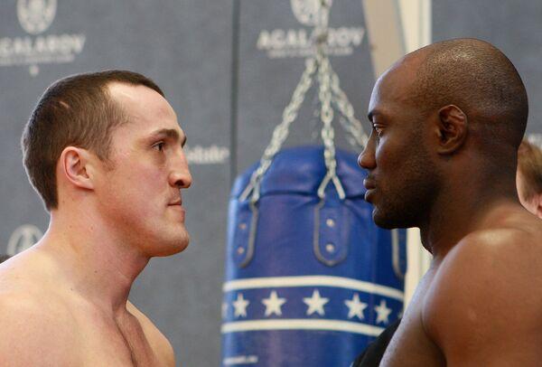 Денис Лебедев и Шон Кокс (слева направо)