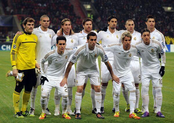 Футболисты Реала. Архив