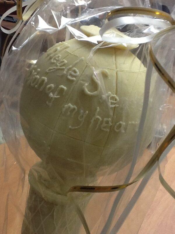 Шоколадный Хрустальный глобус