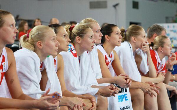 Женская сборная России по баскетболу. Архив