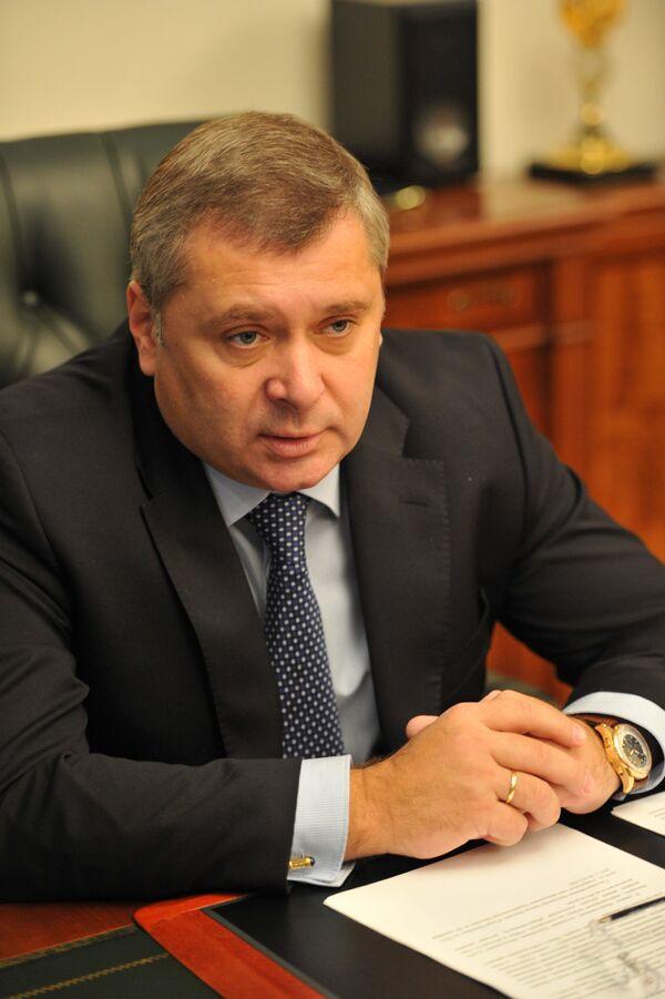 Руководитель департамента физической культуры и спорта Москвы Алексей Воробьев